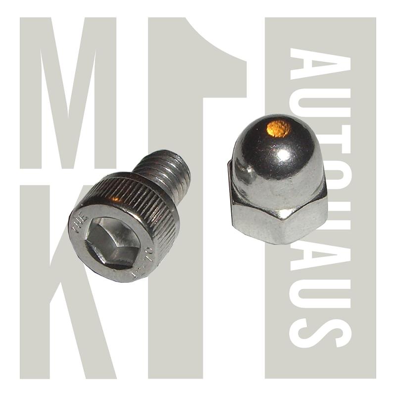 Seat install socket head bolt acorn nut stainless steel