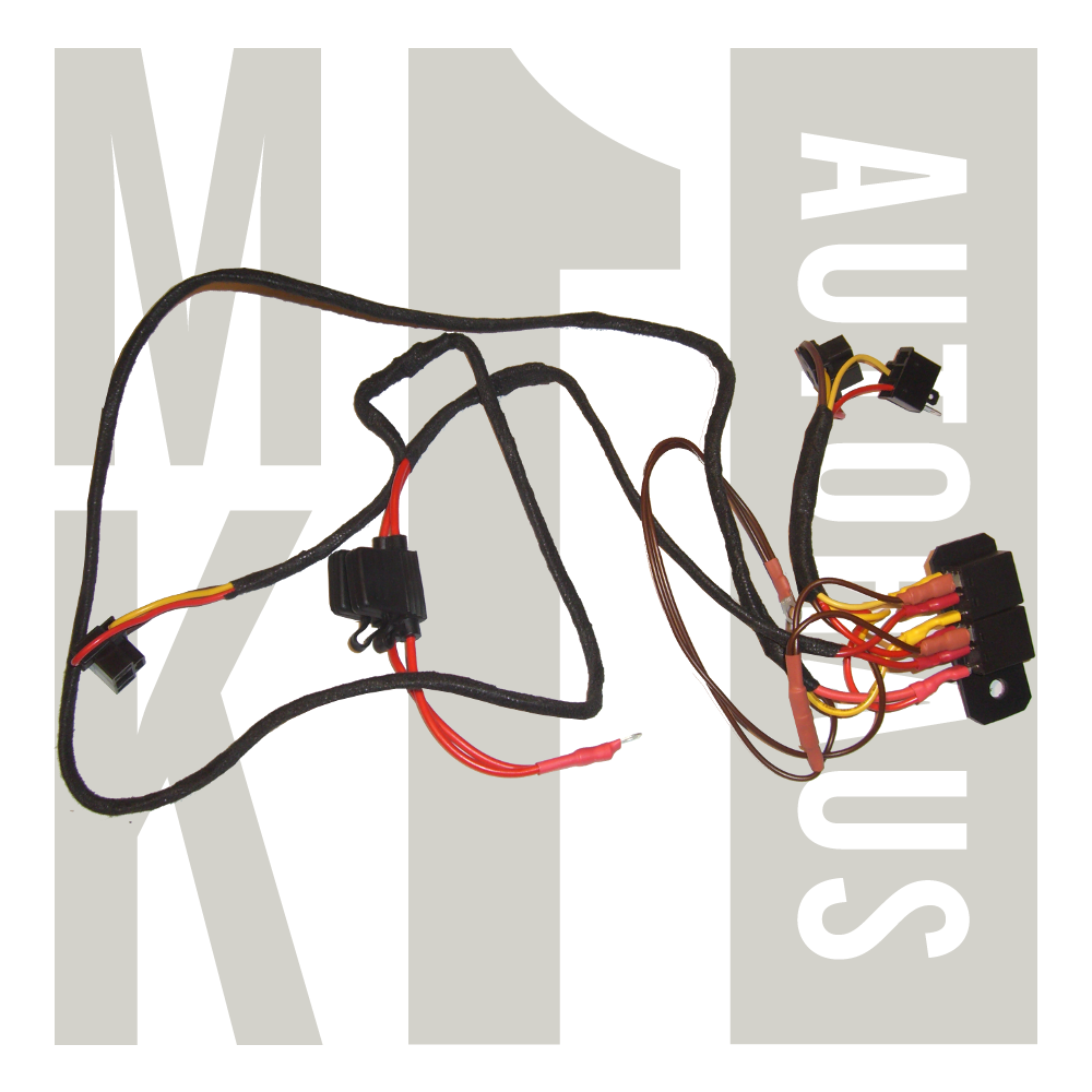 H4 Headight - Upgrade Wiring Harness on ul wire harness, c3 wire harness, c5 wire harness, s10 wire harness, h11 wire harness, h22 wire harness, h1 wire harness,