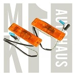 Amber European Turn Signals - Pair