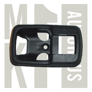 Inner Door Handle Lever Trim Plate / Bezel - Black - Fits Left or Right , 171 837 235 - German