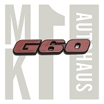 G60 Hatch Badge / Emblem