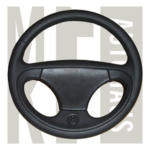 NOS European Corrado / Mk3 Golf Leather Steering Wheel, 1H0 419 091AB 1BX (include horn pad)