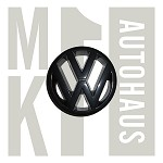 VW Grille Badge Emblem - Black