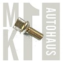 Alloy Wheel Bolt M12 x 1.5mm; 45mm Length; Ball Seat; 17mm Hex