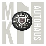 Wolfsburg Adhesive Backed Emblem - Black