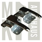 Inner Chrome Door Handle Lever Pulls