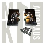 Chrome Front Door Lock Box Set - Left & Right