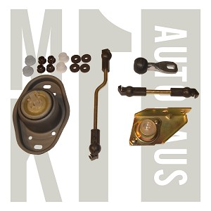 5 Speed Manual Shift Linkage Rod / Bushing / Bearing - Complete Rebuild Kit  - Uber ,  Mk1 798 163E-Uber (See Field 6)