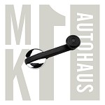 Window Crank Handle - Black / Chrome