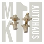 Mk2 Round Headlight Adjuster Kit - Vertical & Horizontal