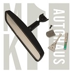 Rear View Mirror Kit - Includes Mounting Bracket,  Screw & Adhesive  - Windshield Mounted -8
