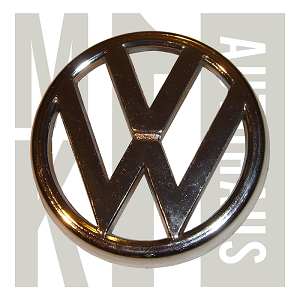 "North American Mk2 Westy ""Vw"" Grille Badge 1985-1997 Golf / Jetta Grille Badge - Chrome - Genuine, Mk2 Westy Vw Grille Badge 1985-1997"