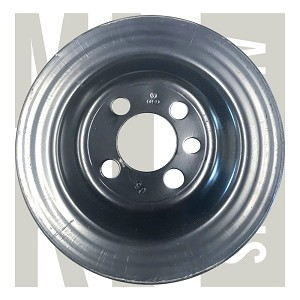 8V Crankshaft Pulley - Genuine - Without AC - NOS -  026 105 255 - $127.00 Retail Price - Vibration Damper , 026 105 255  026105255-2