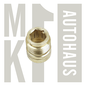 8V CIS Upper Fuel Injector Bung / Bushing for 84 + Up (Brass),  034 133 555A