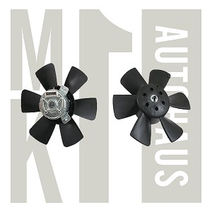 With A/C 3 Pin Radiator Fan, 165 959 455AM
