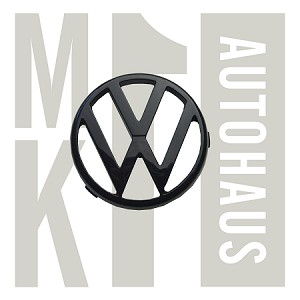 """Vw"" Early Grille Badge / Emblem -  Black, 171 853 601 041 (FLR - 171 806 104S)"