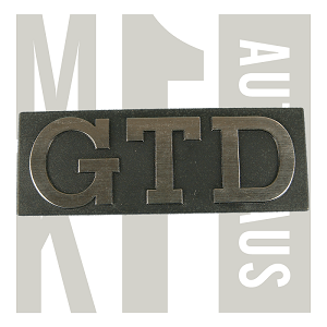 "Golf ""Gtd"" Grill Badge / Emblem, ? NLA 171 853 679D"