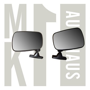 Hagus Brand Mirror - Pair Left & Right Flag , 171 857 501 & 502D (See field 6 for reorder)