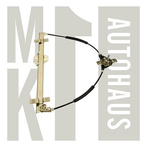 Late Mk2 Manual Window Regulator - Front Right, 191 837 402B
