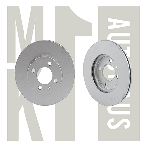 "10.1""  Front Disc Brake Rotor (ATE), 321 615 301D"