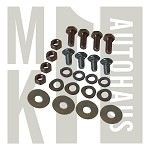 European Chrome Bumper Fastener Kit