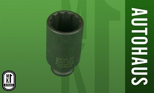 30Mm 12Pt Impact Socket - Outer Axle Bolt Tool, MNDH30