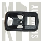 Inner Door Handle Lever Trim Plate / Bezel - Black - Fits Left or Right