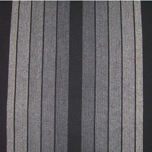 Upholstery by Linear Yard - Gray / Black Vertical Stripes, VOLK13463